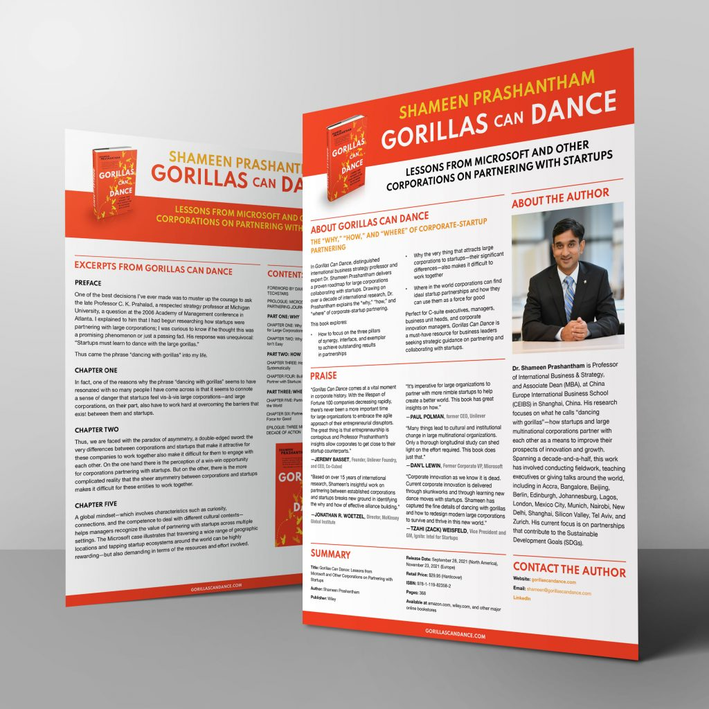 Gorillas Can Dance Press Kit